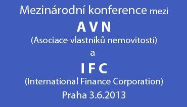 Konference AVN a IFC